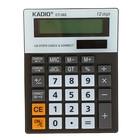 Калькулятор настольный 12-разрядный 302 двойное питание