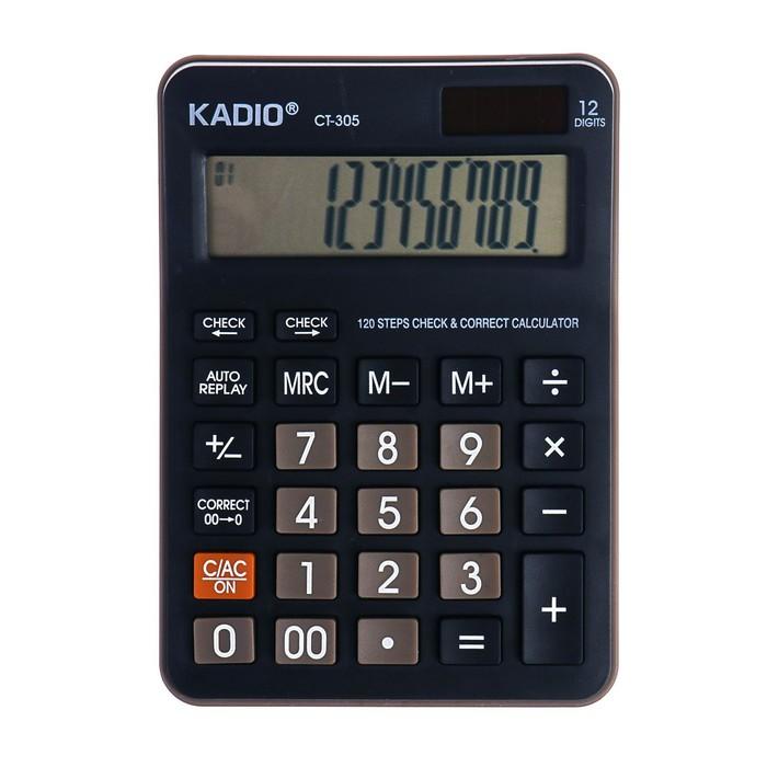 Калькулятор настольный, 12-разрядный, 305 - фото 447544081