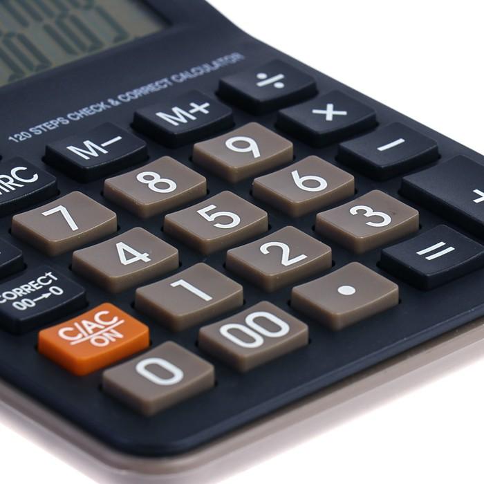 Калькулятор настольный, 12-разрядный, 305 - фото 447544083
