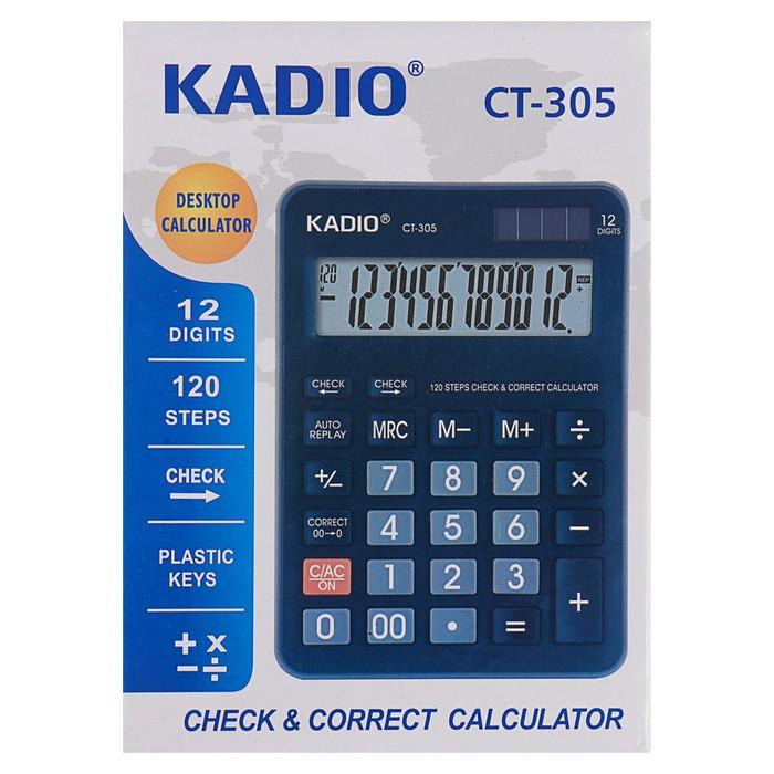 Калькулятор настольный, 12-разрядный, 305 - фото 447544084