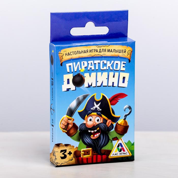 ДОМИНО развивающая игра «Пиратское»