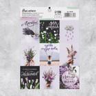 Наклейки бумажные «Луговые цветы» , 11 × 16 см
