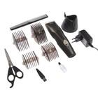 Машинка для стрижки волос Aresa AR-1809, 6 Вт, АКБ, 4 насадки, черная
