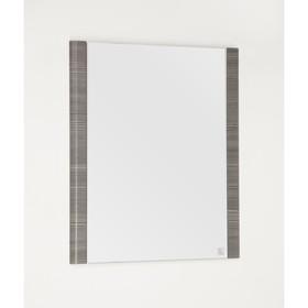 Зеркало Лотос 60, Шелк зебрано