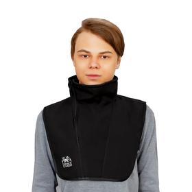 Ветрозащита шеи и груди LYCOSA WINDSTOPPER BLACK
