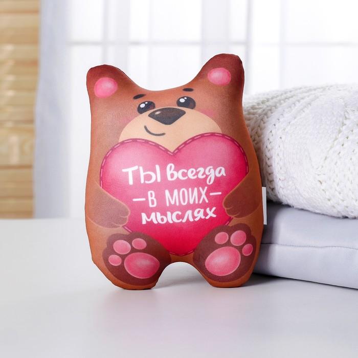 Игрушка-антистресс «Ты всегда в моих мыслях», мишка