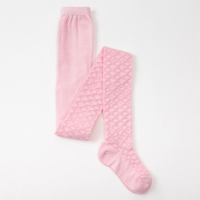 Колготки детские ажурные 2ФС73-011, цвет светло-розовый, рост 140-146 - фото 76185481