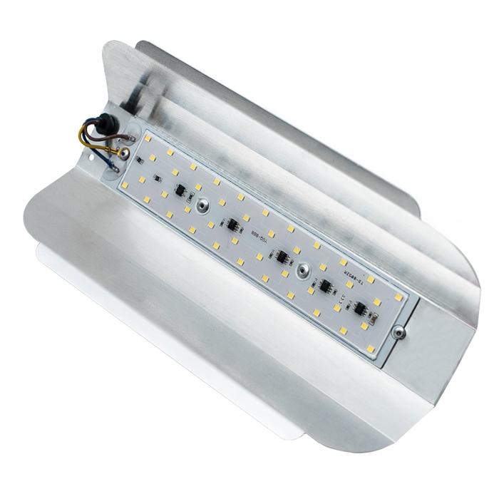 Светильник светодиодный GLANZEN RPD-0001-50 универсальный, 47 Вт, 6500 К, IP 43, 3500 Лм, SMD, 165-2