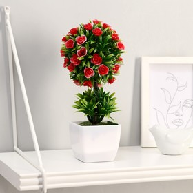"""""""Bonsai Tree with roses in the Bush"""" 7*21 cm, mix"""