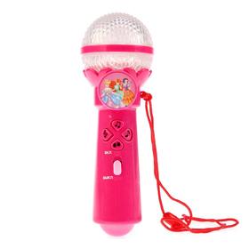 Микрофон, световые эффекты, 20 песен принцесс