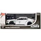 Машина на радиоуправлении Bentley continental GT3 со светом, цвет белый
