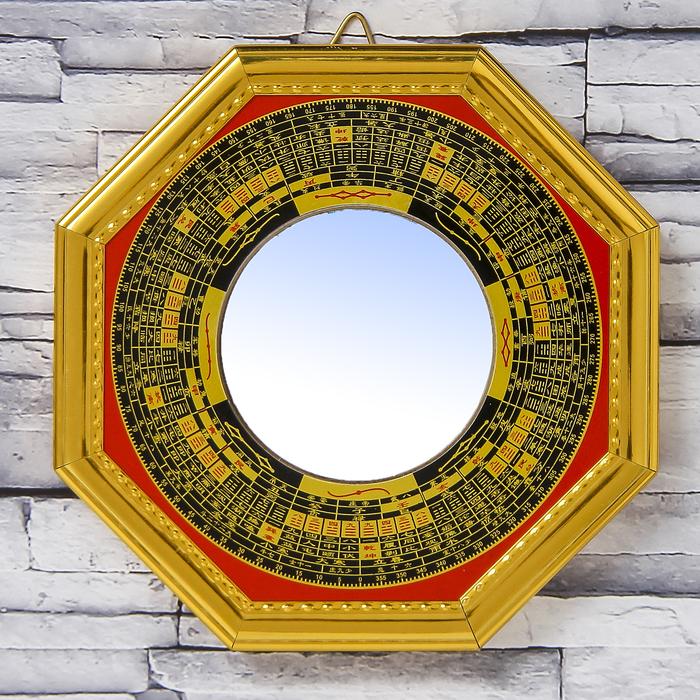 "Сувенир пластик ""Зеркало Ба-гуа"" 1,4х16,7х16,7 см"