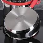 Набор посуды MCFR, 4 предмета: ковш 1,8 л; кастрюля 2,8 л, сковорда d=25 см, кастрюля 5,6 л - фото 926088