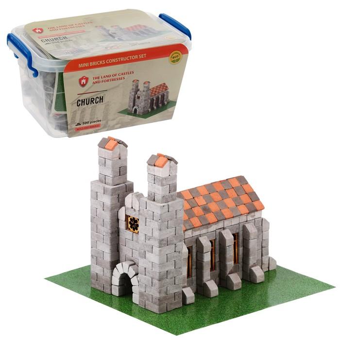 Конструктор керамический «Немецкий собор», 500 деталей