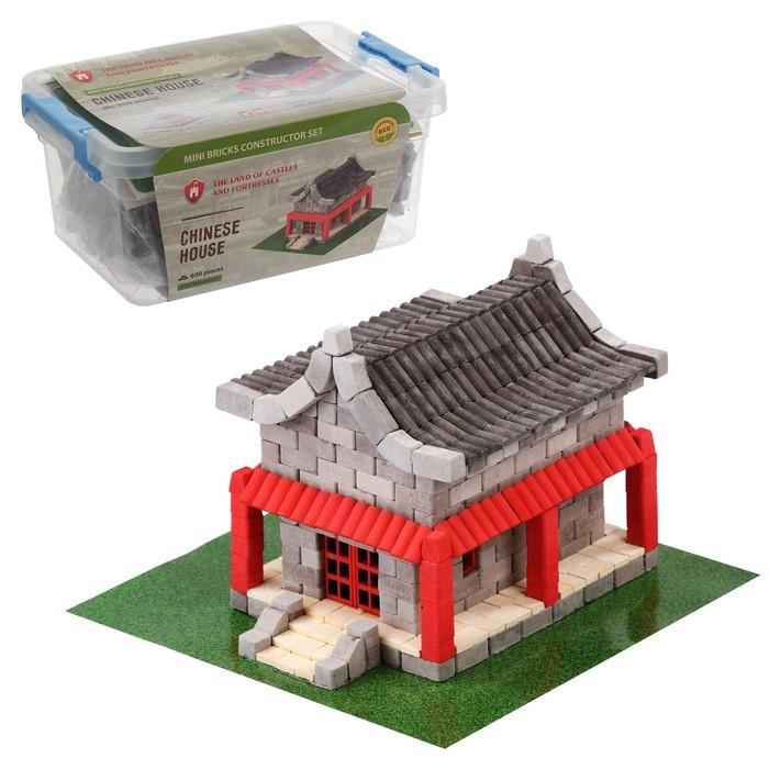 Конструктор керамический «Китайский домик», 600 деталей
