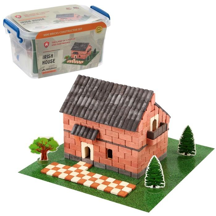Конструктор керамический «Ирландский домик», 450 деталей