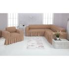 Чехол д/мягкой мебели Угловой и кресло 2-х пр.(3+1) VENERA , цвет 11, трикотаж п/э100%