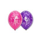 """Шар латексный 14"""" «С днём рождения», балерина, пастель, шелк, набор 25 шт., МИКС - фото 951711"""