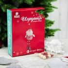 """Набор для создания игрушки """"Дед мороз в свитере"""" + декор, инструкция"""