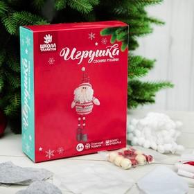 Набор для создания игрушки «Дед мороз в свитере», декор, инструкция