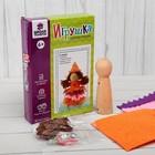 Набор для создания игрушки из фетра «Фея», деревянная основа, игла - фото 399224