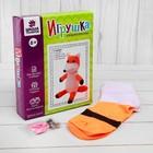 """Набор для создания игрушки из носков """"Лисичка"""" + игла , инструкция"""