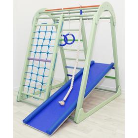 Детский спортивный комплекс Tiny Climber, 1050 × 1100 × 1300 мм, цвет фисташка
