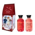 """Подарочный набор Skin Juice """"Домик"""": Гель для душа 270 мл + пена для ванн 270 мл."""