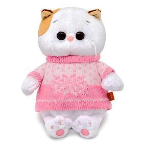 Мягкая игрушка «Кошечка Ли-Ли BABY» в свитере, 20 см