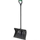 Лопата пластиковая, ковш 325 × 500 мм, с планкой, металлический черенок, с ручкой, Palisad