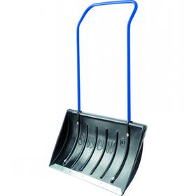 Движок пластиковый «Сибиртех», размер ковша 45 × 79 см, металлическая планка