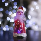 """Игрушка световая """"Дед мороз усач"""" (батарейки в комплекте) 1 LED, RGB"""