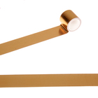"""Клейкая лента пластик """"Голографический рисунок - золотой"""" ширина 4,8 см намотка 5 метров"""