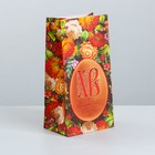 Пакет подарочный без ручек «Со Светлой Пасхой», 10 × 19.5 × 7 см