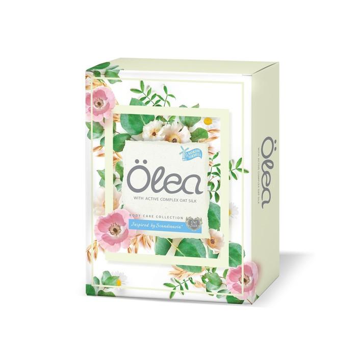 Подарочный набор Olea Oat Silk: крем-гель для душа, 200 мл. + скраб для тела, 200 мл.