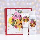 Подарочный наборм Hello Tropic Flowers №1401: Гель для душа 200 мл, Крем для рук 80 мл