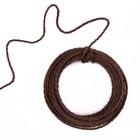 Проволока «Спираль» в оплетке, 3 мм х 4,5 м, 55 г, коричневый