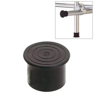 Leg-plug R-15 plastic, outdoor, black
