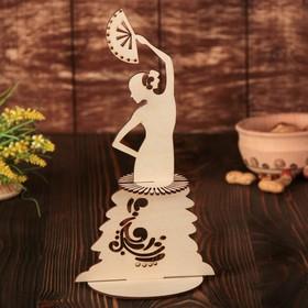 """Napkin holder """"Dancer with a fan"""", 25×14,5×0.3 cm"""