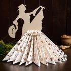 Салфетница «Танцовщица в шляпке», 24×17×0,3 см