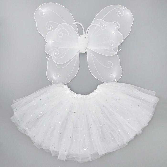 """Карнавальный набор """"Бабочка"""", 2 предмета: крылья, юбка двухслойная"""