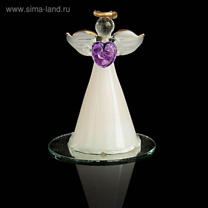 """Сувенир """"Ангел в белом с сердечком"""""""
