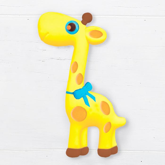 """Масса для лепки магнита - значка """"Жираф"""""""