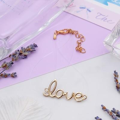"Bracelet ""On the line"" love the color gold"