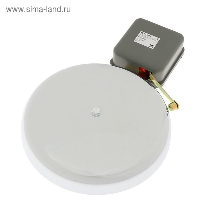 """Звонок громкого боя TDM """"МЗ-2Т"""", диаметр 250 мм, 85 Дб, 220 В"""