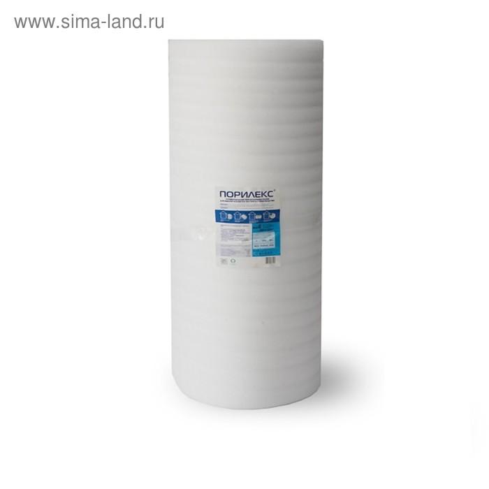 "Теплоизоляция ""Порилекс"" НПЭ, толщина 5 мм, рулон 1,25х50 м, 62,5 кв. м."