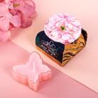 Свеча с пожеланием «Цветы»