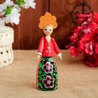 Сувенирная кукла «Девушка в кокошнике», 16 см, микс