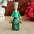 Сувенирная кукла «Девушка с ведёрком», 16 см, микс