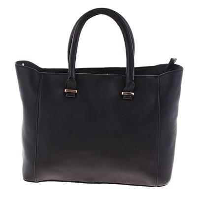 """Сумка женская """"Сюрприз"""", 1 отдел, наружный карман, длинный ремень, чёрная"""